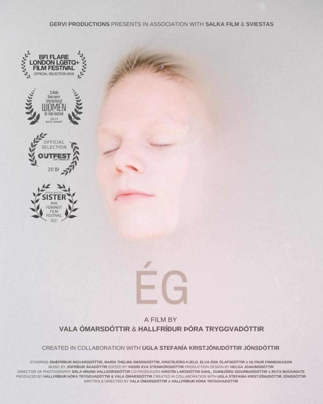 ÉG poster